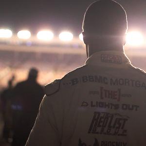 NASCAR Driver Jesse Iwuji